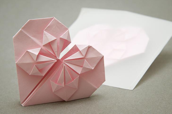 Molto Il biglietto origami a forma di cuore – Casa e Trend TN88