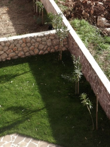 Docce da giardino in muratura casamia idea di immagine - Progetto giardino mediterraneo ...