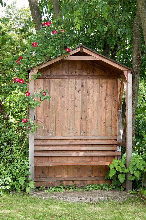 arredo giardino legno panca wood bench