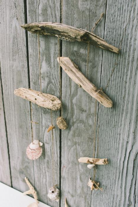 legno spiaggiato fai da te driftwood diy mobile