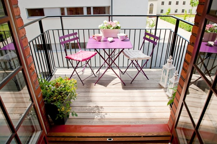 Le 10 regole per il design della vostra terrazza casa e for Arredamento per terrazzo piccolo