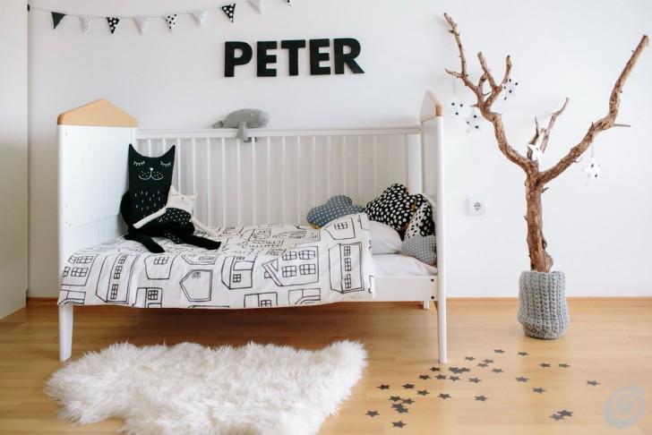 Idee Per Arredare Cameretta Neonato : Idee per le camerette in stile naturale u casa e trend