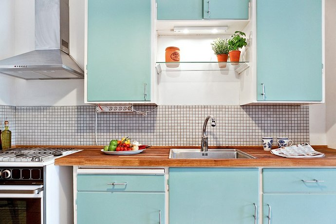 Dipingere Mobili Cucina Vecchia JX29 ~ Pineglen