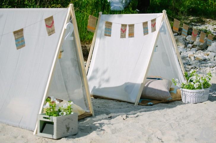 tenda bambini cucire fai da te kids tent diy