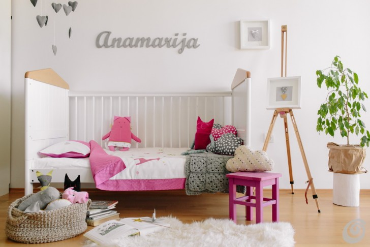 Idee Per La Camera Fai Da Te : Idee per le camerette di bambine e ragazze u casa e trend