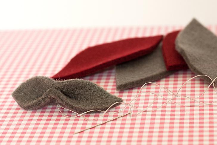 Idee Cucito Per Natale : Idee regalo natale fai da te la collana in feltro u casa e trend