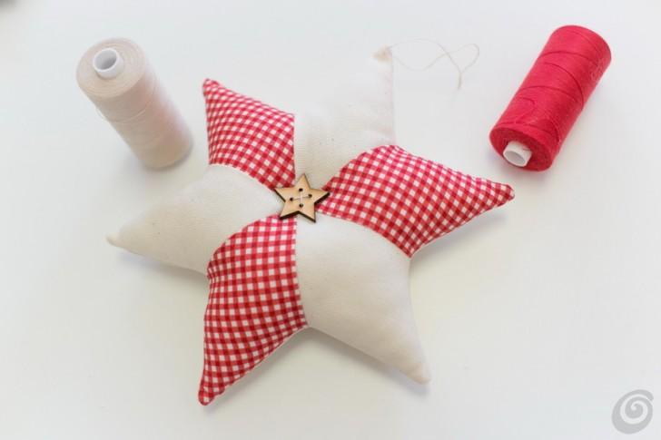 Amato Addobbi natalizi, la stella di tessuto – Casa e Trend TI09