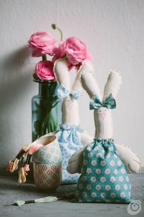 I Coniglietti Di Tessuto Casa E Trend