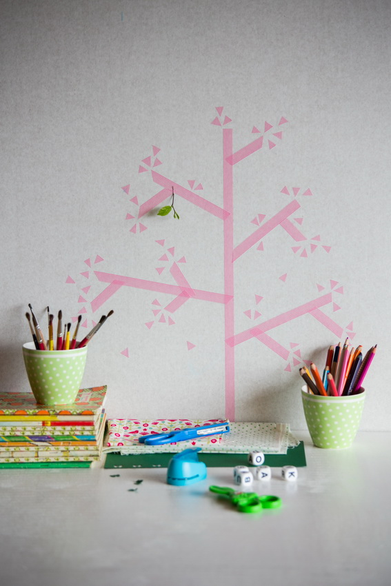 washi_tape_wall_decoration_kids_room