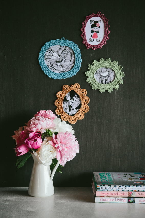 crochet_frames_wall_decoration