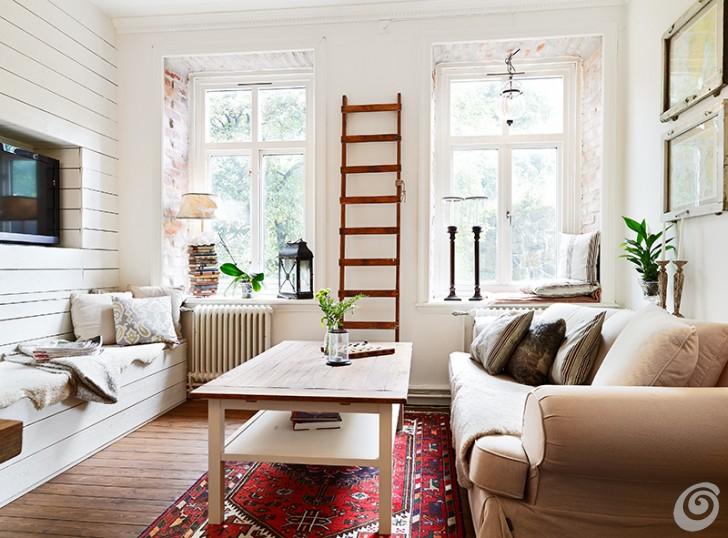 L 39 home personal shopper ovvero come arredare casa senza for Soggiorno shabby moderno