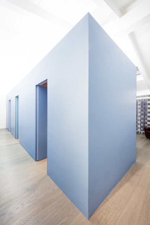 mansarda_attic_zona_giorno_living_blue_cube_utility_rooms