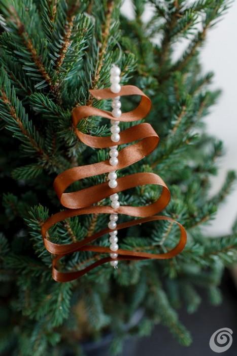Eccezionale Addobbi di Natale con nastro e perline – Casa e Trend ZE21