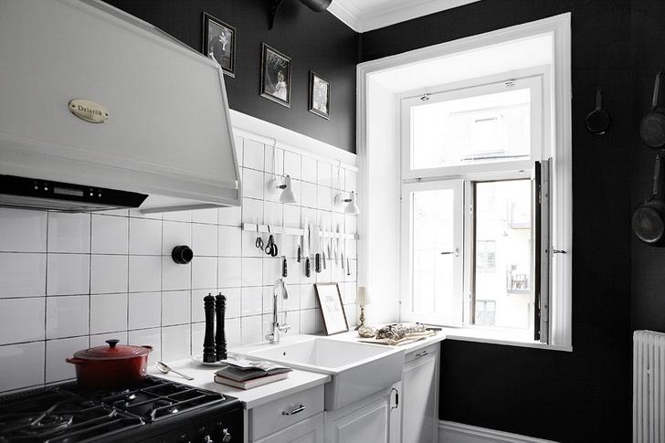 crno_bela_oprema_stanovanje_kuhinja