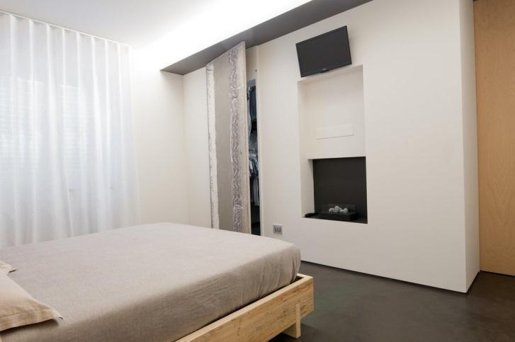Cabine armadio nella camera da letto casa e trend - Camera da letto con cabina armadio e bagno ...
