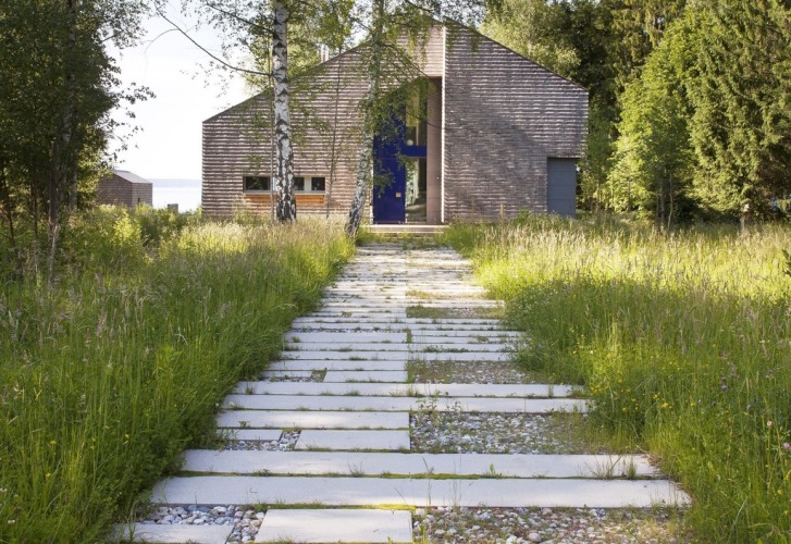 Pavimenti per esterni i materiali naturali u casa e trend