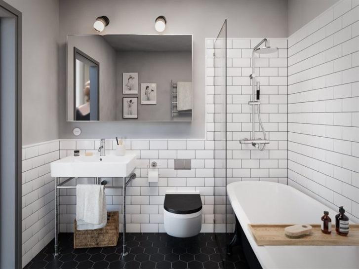 Idee per arredare un bagno piccolo casa e trend - Arredare il bagno piccolo ...
