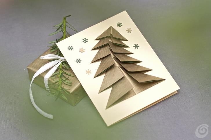 spesso Biglietti natalizi con la carta da pacchi – Casa e Trend DF49