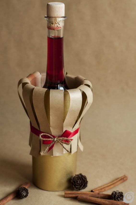 abbastanza Come fare una confezione regalo per una bottiglia – Casa e Trend PV78