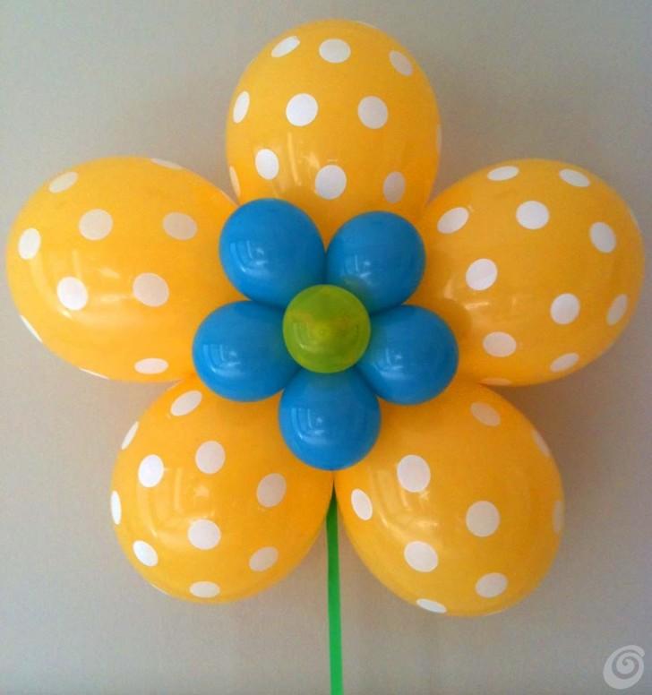 Super Fiori fai da te con palloncini ad elio – Casa e Trend SP19