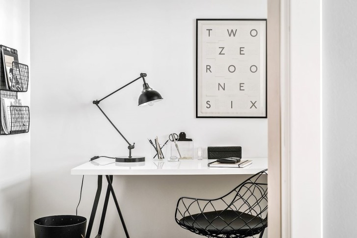 come-arredare-corridoio-studio-scrivania