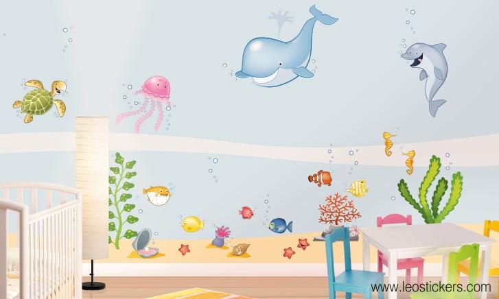 leostickers-adesivi-murali-mare