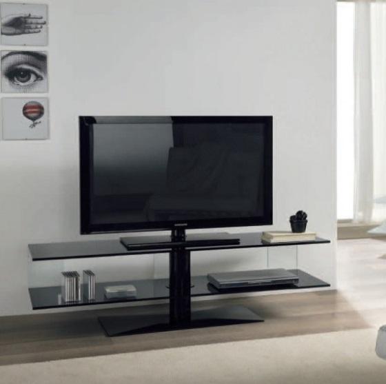 Un mobile porta tv in vetro per arredare il salotto casa e trend - Mobili porta tv in vetro ...