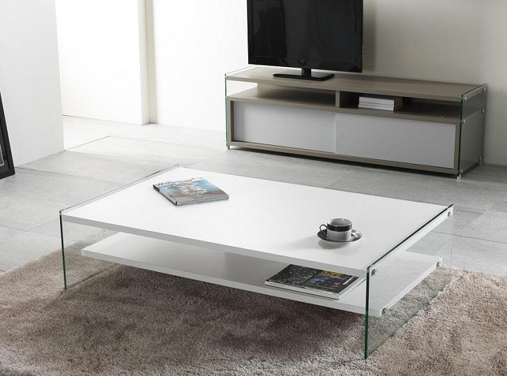 Un mobile porta TV in vetro per arredare il salotto – Casa e Trend