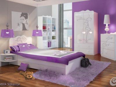 Otroška soba ORCHIDEA SILVER
