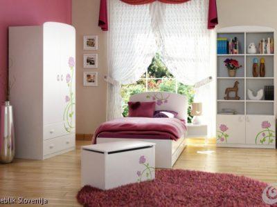 Otroška soba PINK ROSE