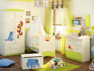 Otroška soba WINNIE IN PRIJATELJI