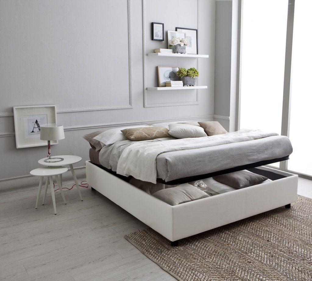 Come scegliere il letto contenitore casa e trend - Letto matrimoniale contenitore mondo convenienza ...