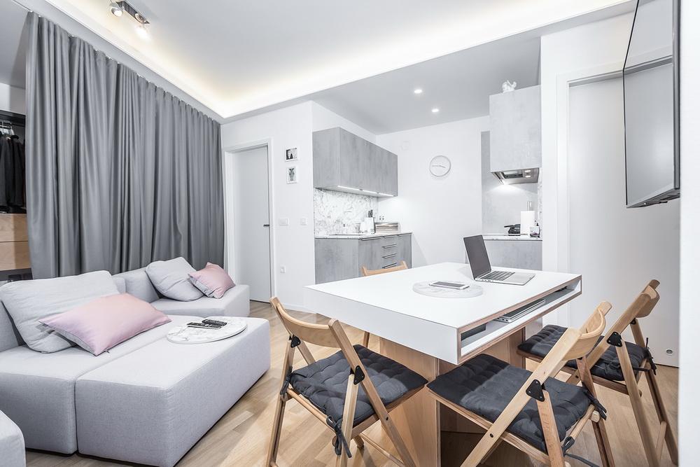 Un Casa Di 40 Mq Per Tutte Le Esigenze Casa E Trend