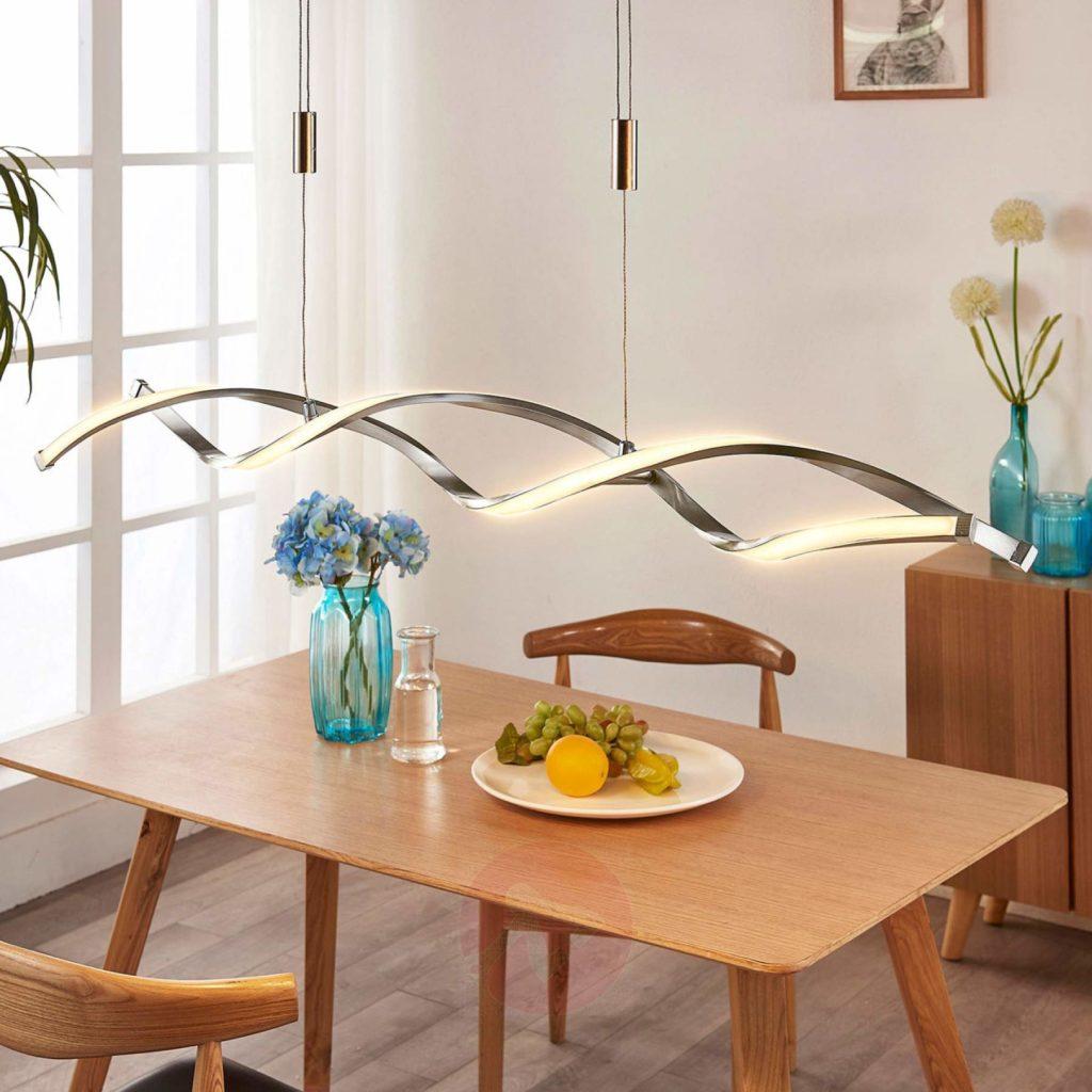 Lampade Sopra Tavolo Da Pranzo come scegliere il lampadario per la cucina – casa e trend